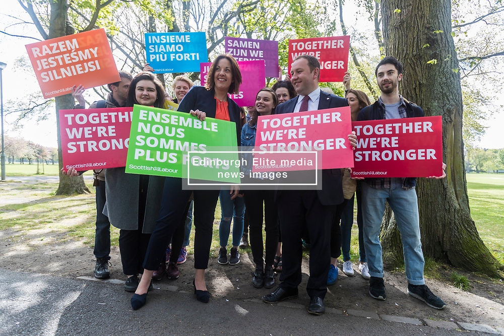 """Labour challenges Ruth Davidson to guarantee the rights of EU nationals to stay in the UK.<br />  <br /> On a campaign visit in Edinburgh to mark Europe Day, Kezia Dugdale says a UK Labour government will guarantee that right.<br />  <br /> She says the Tories' treatment of EU nationals has been 'sickening' since the EU referendum.<br />  <br /> Labour also challenges the SNP to take the risk of further economic uncertainty off the table by abandoning plans for a divisive second independence referendum.<br />  <br /> Kezia Dugdale says<br />  <br /> """"The Tories have used people like poker chips since the EU referendum. It's sickening, it's wrong and it needs to stop.<br />  <br /> """"Labour's manifesto will guarantee the rights of EU nationals. This goes to the very heart about who we are as a country. There are over 180,000 EU nationals currently living and working in Scotland and they make a rich contribution to our society and economy.<br />  <br /> """"In Edinburgh, EU nationals are vital to our capital's economy, and Ian Murray will always fight for their rights in Edinburgh South.<br />  <br /> """"Ruth Davidson and the Scottish Tories need to match Labour's commitment and guarantee beyond doubt that EU nationals will be able to continue to live and work in Scotland after we leave the EU.<br />  <br /> """"Nicola Sturgeon needs to stop destabilising Scotland's economy and take the threat of a second independence referendum off the table.<br />  <br /> """"Labour believes that together we're stronger.  Our country is divided enough. It is time to start healing the scars of both 2014 and 2016. That's why a vote for Labour on June 8 is a vote against another divisive independence referendum and against a hard Tory Brexit."""""""