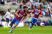 Crystal Palace midfielder Andros Townsend (10) during the Premier League match between Tottenham Hotspur and Crystal Palace at Tottenham Hotspur Stadium, London, United Kingdom on 14 September 2019.
