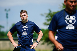 Luke Wilkinson looks on during week 1 of Bristol Bears pre-season training ahead of the 19/20 Gallagher Premiership season - Rogan/JMP - 03/07/2019 - RUGBY UNION - Clifton Rugby Club - Bristol, England.