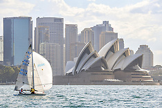 2017 - ICONIC 5O5 SAILING IN SYDNEY HARBOUR - AUSTRALIA
