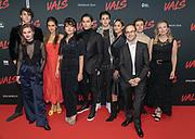 2018, Januari 14. Kinepolis Jaarbeurs, Utrecht. Premiere van de film Vals. Op de foto: De cast, regisseur en schrijver