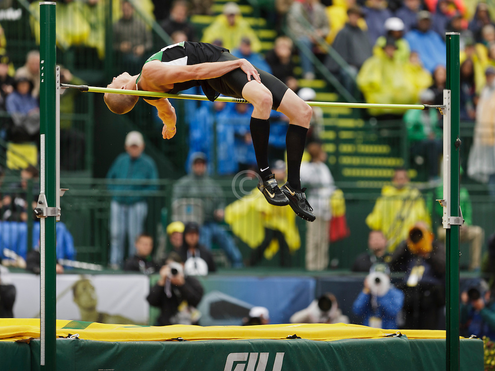 Men's High Jump, Jesse Williams