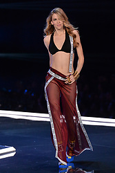 Victoria Lee on the catwalk for the Victoria's Secret Fashion Show at the Mercedes-Benz Arena in Shanghai, China
