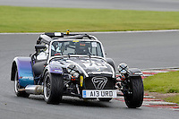 #70 Andrew Burd Caterham Roadsport during the Avon Tyres Caterham Roadsport Championship at Oulton Park, Little Budworth, Cheshire, United Kingdom. August 13 2016. World Copyright Peter Taylor/PSP.