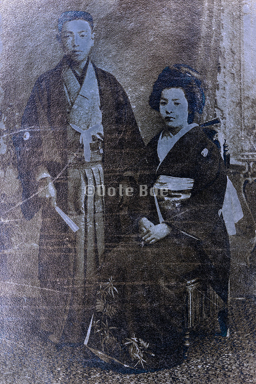 wedding portrait Japan ca 1930s