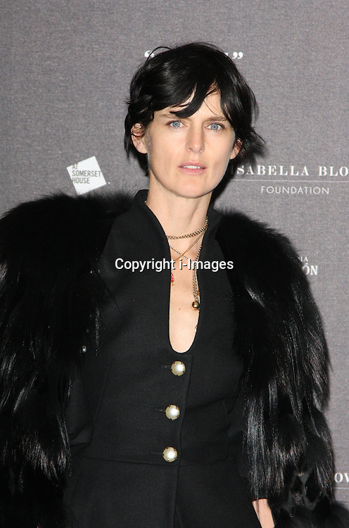 Stella Tennant  arriving at the opening of the  Isabella Blow at the Isabella Blow exhibition at Somerset House in London, Tuesday, 19th November 2013   Photo by: i-Images
