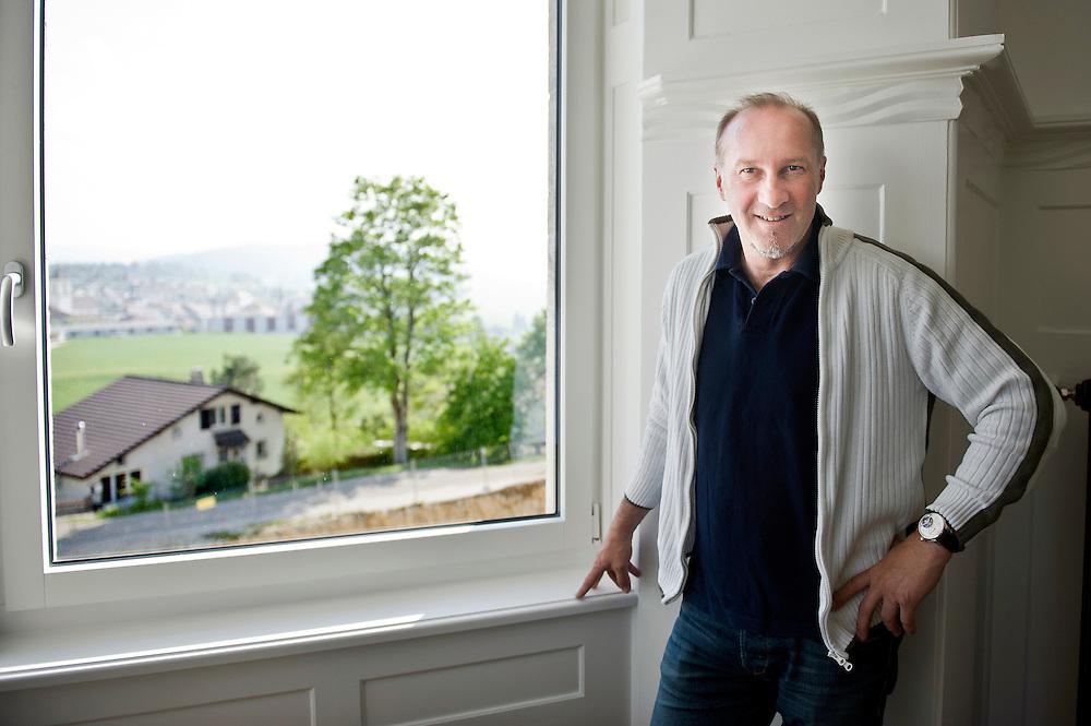 Suisse 03 Mai 2011<br /> Portrait de Jacky Epitaux.<br /> Photo: Ezequiel Scagnetti