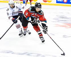 Game 5 action at the 2015 MasterCard Memorial Cup between the Oshawa Generals and Kelowna Rockets at Pepsi Colisee in Quebec City on Tuesday May 26, 2015. Photo by Aaron Bell/CHL Images