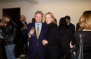Sebastian Taylor and Louise MCBain, Modern Painters re-launch. Serpentine Gallery. 15 December 2004. ONE TIME USE ONLY - DO NOT ARCHIVE  © Copyright Photograph by Dafydd Jones 66 Stockwell Park Rd. London SW9 0DA Tel 020 7733 0108 www.dafjones.com