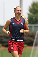 29 July 2006: Heather Mitts (USA). The United States Women's National Team trained at SAS Stadium in Cary, North Carolina, in preparation for an International Friendly match against Canada to be played on Sunday, July 30.