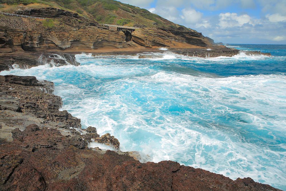 Hanauma Bay Foam Surf - Oahu, HI