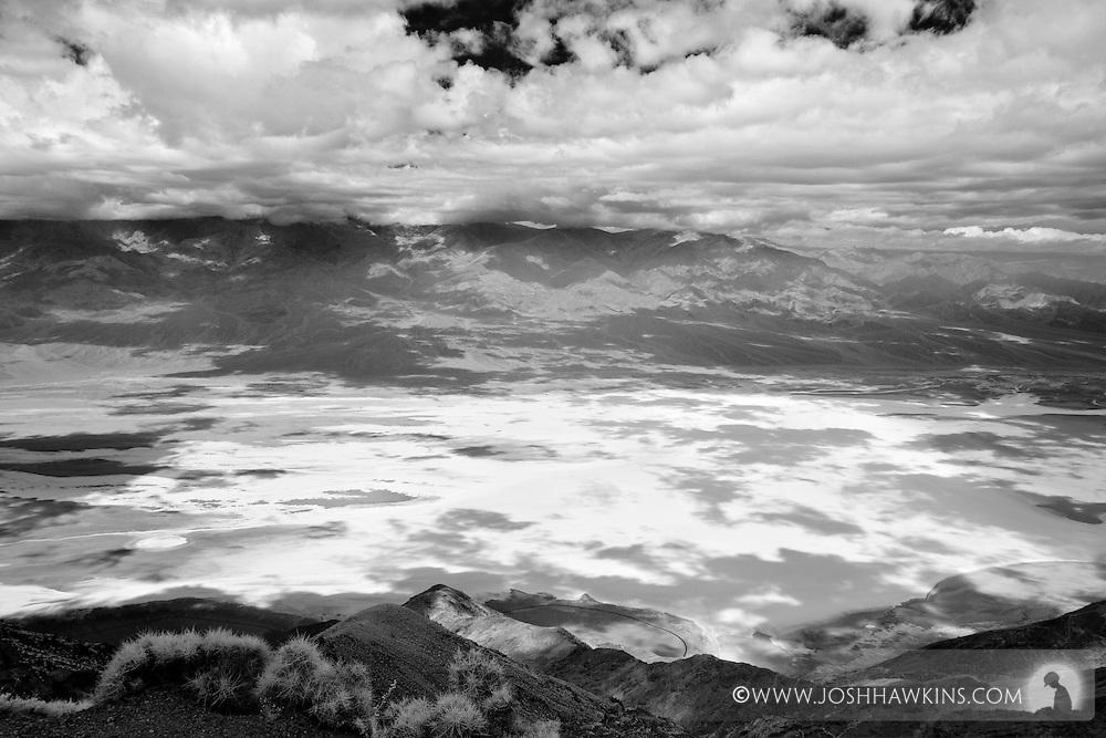Death Valley National Park - Dante's Peak looking down on Badwater