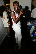 "Traceye Smith at The Bombay Sapphire & Vibe Magazine Present Ashanti's ""The Declaration"" A Listening Party held at The W Hotel (West Street) on June 4, 2008"