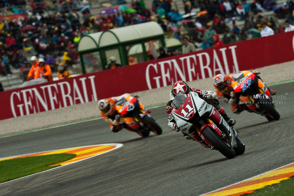 2011 MotoGP World Championship, Round 18, Valencia, Spain, 6 November 2011, Ben Spies