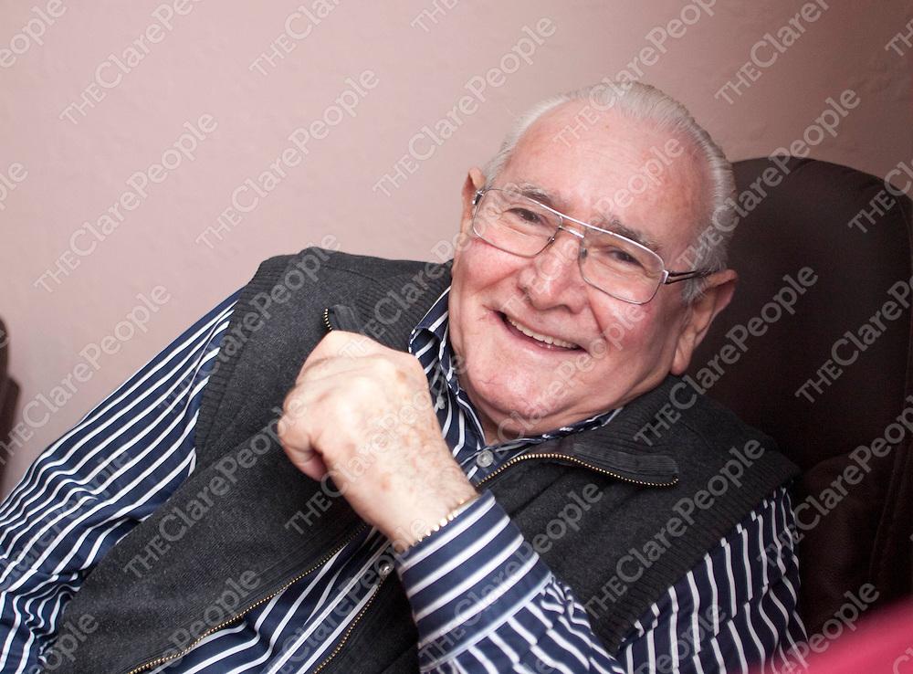 21.03.12<br /> Joe Kiely pictured at his Kilrush Home.<br /> Pic. Alan Place / Press 22