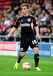 Bristol City's Joe Bryan - Photo mandatory by-line: Robin White/JMP - Tel: Mobile: 07966 386802 21/10/2013 - SPORT - FOOTBALL - Selhurst Park - London - Crystal Palace V Fulham - Barclays Premier League