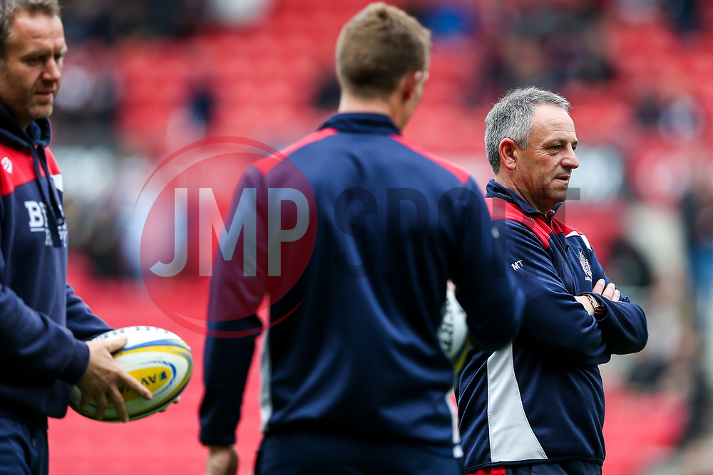 Bristol Rugby Head Coach Mark Tainton looks on - Rogan Thomson/JMP - 06/05/2017 - RUGBY UNION - Ashton Gate Stadium - Bristol, England - Bristol Rugby v Newcastle Falcons - Aviva Premiership.