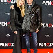 NLD/Amsterdam/20191118 - Filmpremiere Penoza: The Final Chapter, Gaby Blaaser met haar vader