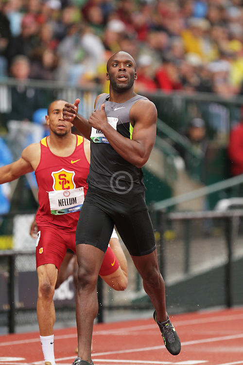 Olympic Trials Eugene 2012; mens 400 meters, LaShawn Merritt