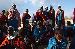 Pastoral community of Masai in Ngorogoro in Tanzania September 29, 2003 (Ami Vitale)