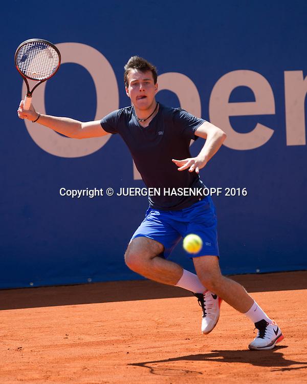 Constantin Frantzen, Rudi-Berger-Cup, Junioren Turnier<br /> <br /> Tennis - BMW Open2016 -  ATP  -  MTTC Iphitos - Munich -  - Germany  - 30 April 2016.