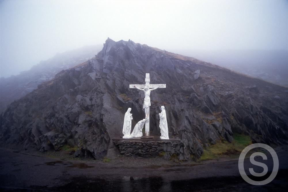 Photo: Steffan Hill, Catholic Shrine, County Kerry, Dingle, Slea Head