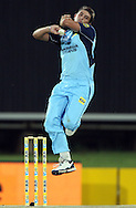 CENTURION, SOUTH AFRICA - 9  January 2009, David Wiese bowling during the MTN Domestic Championship Semi Final match between The Nashua Titans and The Nashua Cape Cobras held at SuperSport Park, Centurion, South Africa..Photo by Barry Aldworth/SPORTZPICS