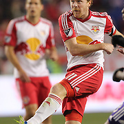 HARRISON, NEW JERSEY- APRIL 24: Dax McCarty #11 of New York Red Bulls in action during the New York Red Bulls Vs Orlando City MLS regular season match at Red Bull Arena, Harrison, New Jersey on April 24, 2016 in New York City. (Photo by Tim Clayton/Corbis via Getty Images)