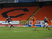 Cedwyn Scott of Dundee fires home the first of this two goals - Dundee United v Dundee, SPFL Under 20 Development League at Tannadice Park, Dundee<br /> <br />  - &copy; David Young - www.davidyoungphoto.co.uk - email: davidyoungphoto@gmail.com