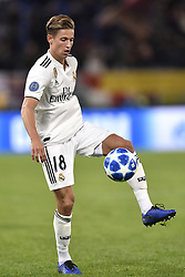 November 27, 2018 - Rome, Rome, Italy - Marcos Llorente of Real Madrid during the UEFA Champions League match between Roma and Real Madrid at Stadio Olimpico, Rome, Italy on 27 November 2018. (Credit Image: © Giuseppe Maffia/Pacific Press via ZUMA Wire)