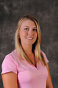 Jennifer Kirby during portrait session prior to the second stage of LPGA Qualifying School at the Plantation Golf and Country Club on Oct. 6, 2013 in Vience, Florida. <br /> <br /> <br /> ©2013 Scott A. Miller