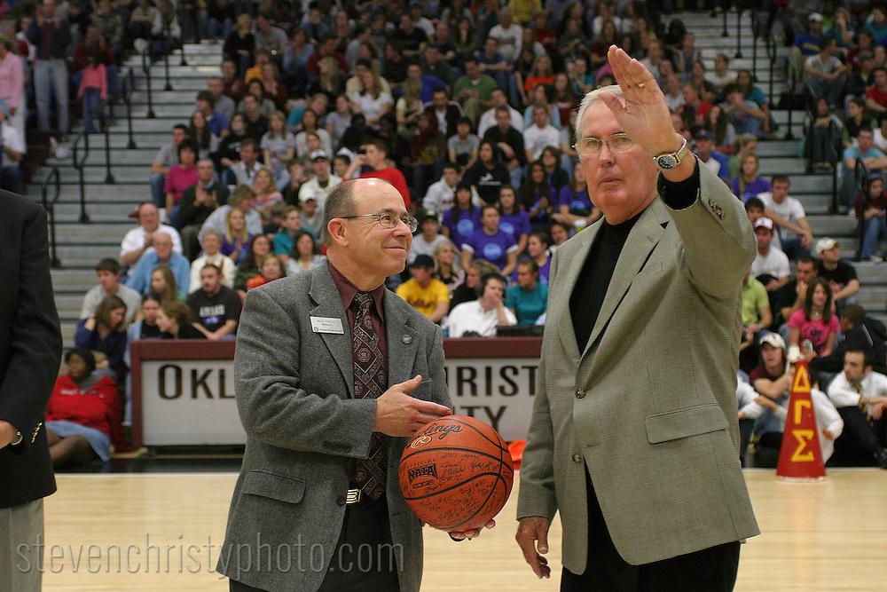 OC Men's Basketball vs Oklahoma Wesleyan.Homecoming.November 4, 2006.97-39 win