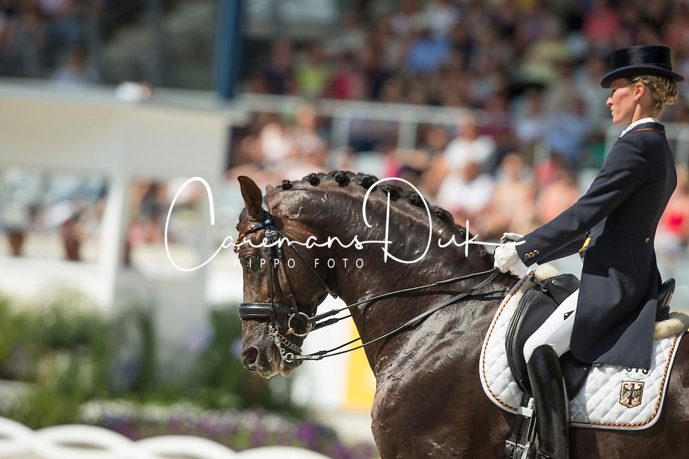 Langehanenberg Helen (GER) - Damon Hill NRW<br /> Preis der Familie Tesch <br /> Lambertz Nations Cup<br /> Weltfest des Pferdesports CHIO Aachen 2014<br /> &copy; Hippo Foto - Dirk Caremans