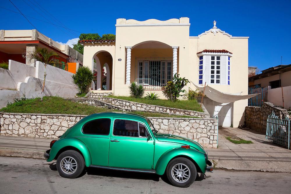 Old VW in Holguin, Cuba.