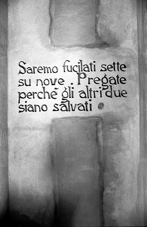 Italia, 2004, dal libro Ci resta il nome. Carpi, (Modena) Museo al deportato arte, arts, cultura, culture, monument, monumento, sito storico, heritage site