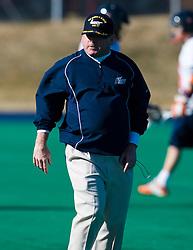 Navy head coach Richie Meade.  The Virginia Cavaliers scrimmaged the Navy Midshipmen in lacrosse at the University Hall Turf Field  in Charlottesville, VA on February 2, 2008.