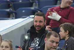 March 27, 2018 - Saint-Petersburg, Russia - Russian Federation. Saint-Petersburg. Arena Saint-Petersburg. Zenit-Arena. Football. Russia - France, Friendly match 1: 3. The football World Cup. The player of national team of Russia on football..fans; spectators; fans;.Ilya Kovalchuk; (Credit Image: © Russian Look via ZUMA Wire)