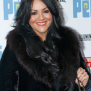 London, England,UK. 12th Nov 2016: Martine McCutcheon attend the UK 'Petmiere' of The Secret Life of Pets to mark the Blu-ray and DVD release on Monday November 14th 2016 at Prince Charles Cinema, Soho,London,UK. Photo by See Li