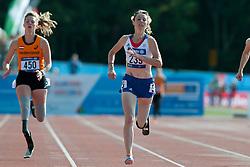 Marlou van Rhijn, Marie-Amelie Le Fur, 2014 IPC European Athletics Championships, Swansea, Wales, United Kingdom