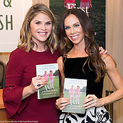 "Jenna Bush Hager and Barbara Pierce Bush at a book signing for their new book, ""Sisters First: Stories from Our Wild and Wonderful Life"", on October 24, 2017 at a Barnes & Noble in midtown Manhattan in New York, NY"