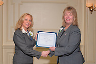 MARCH 27, 2011 - NEW HYDE PARK, NY: CLAUDIA BORECKY of Merrick received the Geraldine A. Ferraro Award for Courage and Grace from the Nassau Women's Democratic Caucus Annual Spring Luncheon at The Inn at New Hyde Park, New Hyde Park, New York. photo © 2011 Ann Parry - AnnParryPhotography.com