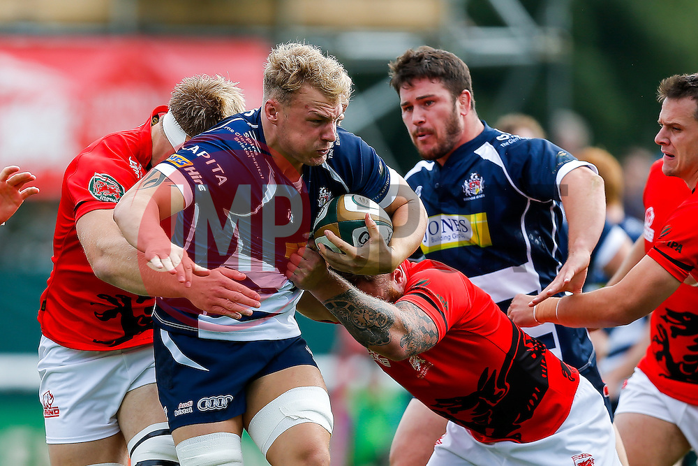 Bristol Rugby Number 8 Mitch Eadie in action - Mandatory byline: Rogan Thomson/JMP - 07966 386802 - 13/09/2015 - RUGBY UNION - Old Deer Park - Richmond, London, England - London Welsh v Bristol Rugby - Greene King IPA Championship.