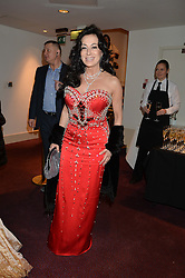 NANCY DELL'OLIO at the 10th anniversary Gala of the Russian Ballet Icons at the London Coliseum, St.Martin's Lane, London on 8th March 2015.