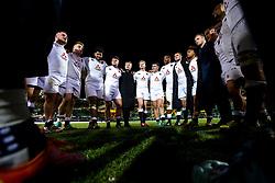 England U20 huddle at full time - Mandatory by-line: Robbie Stephenson/JMP - 15/03/2019 - RUGBY - Franklin's Gardens - Northampton, England - England U20 v Scotland U20 - Six Nations U20