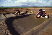 Hanapepe Salt Ponds, Hanapepe, Kauai, Hawaii (editorial use only, no model release)<br />