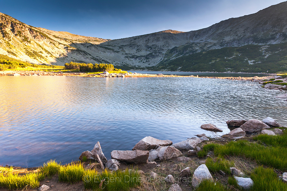Lake in Rila Mountain
