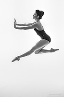 Black and white dance photography-Push -featuring ballerina Zui Gomez