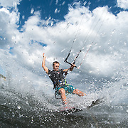 Pro rider Billy Parker is making a big splash in the Gulf of Mexico, Florida.