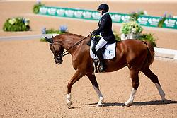 Karjalainen Katja, FIN, Dr Doolittle<br /> World Equestrian Games - Tryon 2018<br /> © Hippo Foto - Sharon Vandeput<br /> 19/09/2018