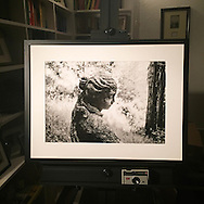 A framed 13x19 silver gelatin made for a gallery exhibition.